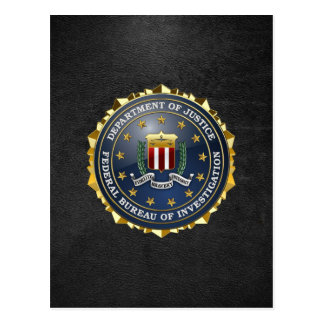[100] FBI Special Edition Postcard