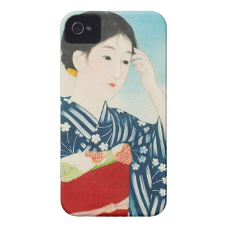 100 Figures of Beauties Wearing Takasago Kimonos iPhone 4 Case