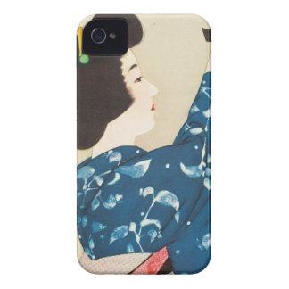 100 Figures of Beauties Wearing Takasago Kimonos iPhone 4 Cover