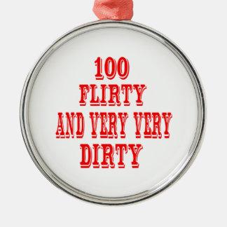 100, Flirty and very very Dirty Christmas Ornament