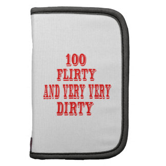100 Flirty and very very Dirty Folio Planner