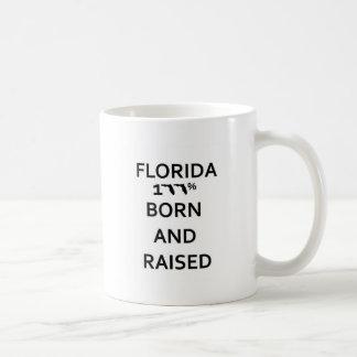 100% Florida Born and Raised Coffee Mug