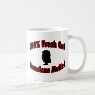 100% Fresh Cut American Mullet Coffee Mug