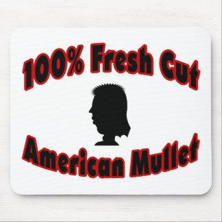 100% Fresh Cut American Mullet Mouse Pad