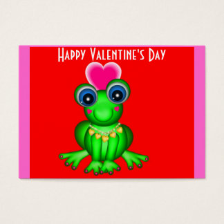 100 Froggy Valentine Cards