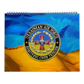 [100] Fuerza aérea ucraniana [edición especial] Calendario De Pared
