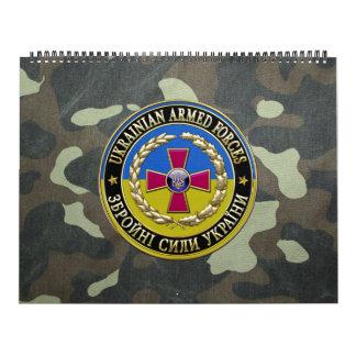 [100] Fuerzas armadas de arma del ucraniano Calendarios De Pared