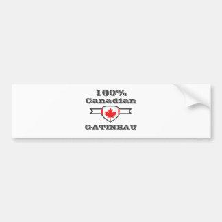 100% Gatineau Bumper Sticker