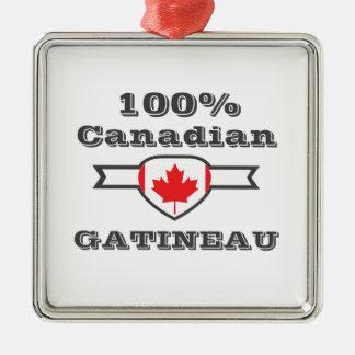 100% Gatineau Metal Ornament
