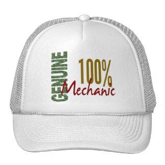 100% Genuine MECHANIC Trucker Hat