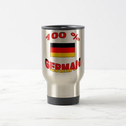 100% German Travel Mug