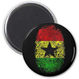 100% Ghanian Ghana DNA pride gifts Magnet