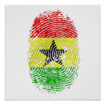 100% Ghanian Ghana DNA pride gifts Poster