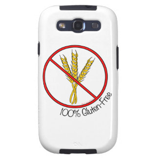 """""""100% Gluten-Free"""" Android Case Samsung Galaxy S3 Cover"""