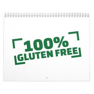 100% Gluten Free Calendar