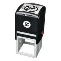 100% Gluten Free No Gluten No Wheat Symbol Self-inking Stamp