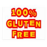 100% Gluten Free Post Cards