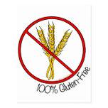 100% Gluten Free Postcards