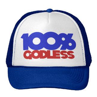 100% Godless Atheist Mesh Hat
