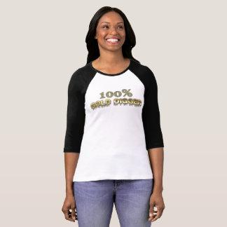 100% Gold Digger 3/4 Raglan Jersey T-Shirt
