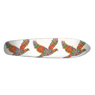 100 Golden Graphics Birds Animal Cosmos Jewel Skateboard Deck