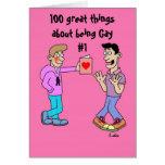 100 grandes cosas sobre ser gay #1 felicitacion