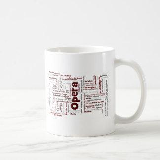 100 Greatest Operas Coffee Mug