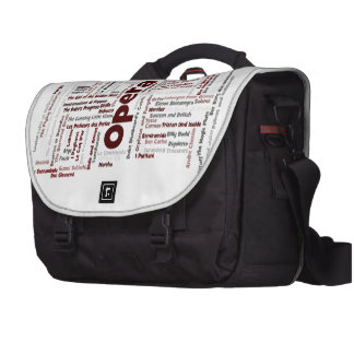 100 Greatest Operas Commuter Bags