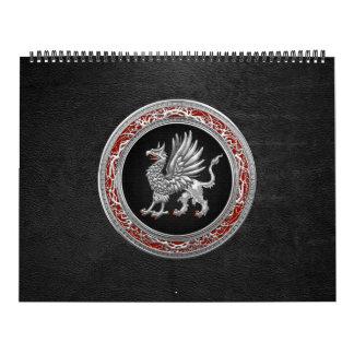 [100] Grifo de plata sagrado Calendarios