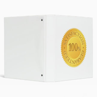 100% Guarantee Binder
