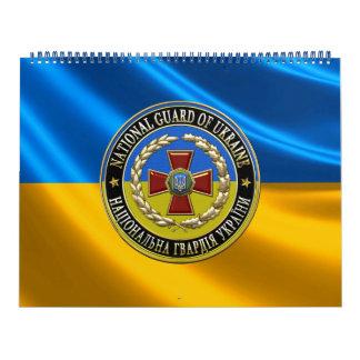 [100] Guardia Nacional ucraniano [edición Calendario De Pared