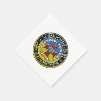 [100] Guardia Nacional ucraniano [edición Servilleta De Papel
