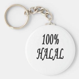 100% HALAL KEYCHAIN