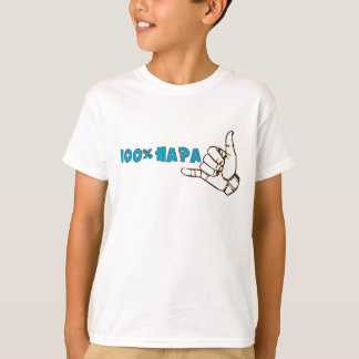 100% Hapa Kids Shirt