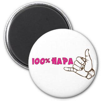 100% Hapa Magnet