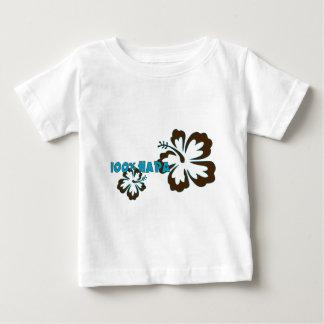 100% Hapa (with Hibiscus) Baby T-Shirt