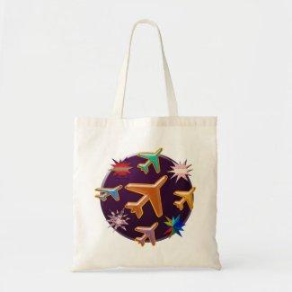 100 Happy Art n Graphics Canvas Bags