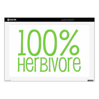 100% Herbivore Laptop Decal