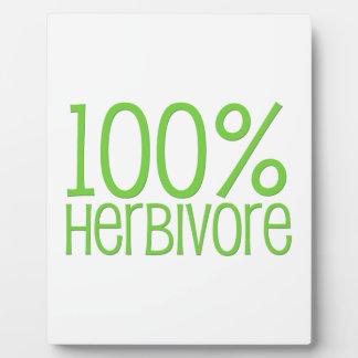 100% Herbivore Plaque