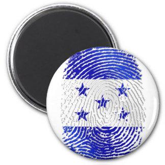 100% Honduran flag of Honduras DNA fingerprint Fridge Magnets
