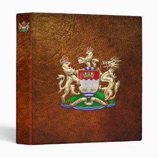 [100] Hong Kong Historical 1959-1997 Coat of Arms Binders