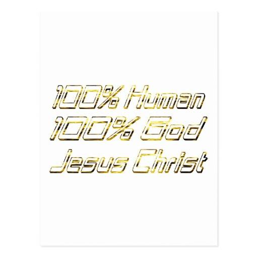 100% Human God Doré Postcards