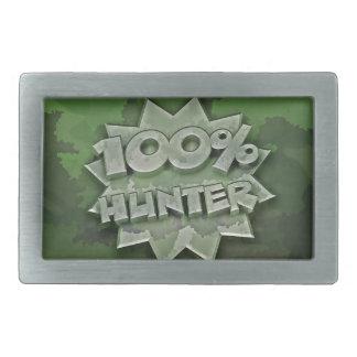 100% Hunter Belt Buckle