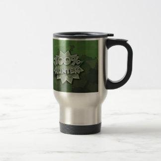 100% Hunter Travel Mug