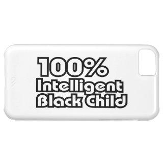 100% Intelligent Black Child iPhone 5C Case