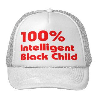 100% Intelligent Black Trucker Hat