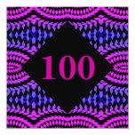 100 - Invitación del fiesta de los números