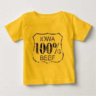 100% Iowa Beef Baby T-Shirt