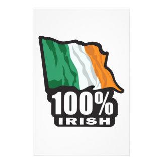 100% Irish Proud to Be Irish Stationery
