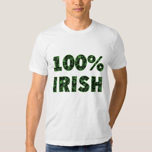 100% Irish Tee T Shirt